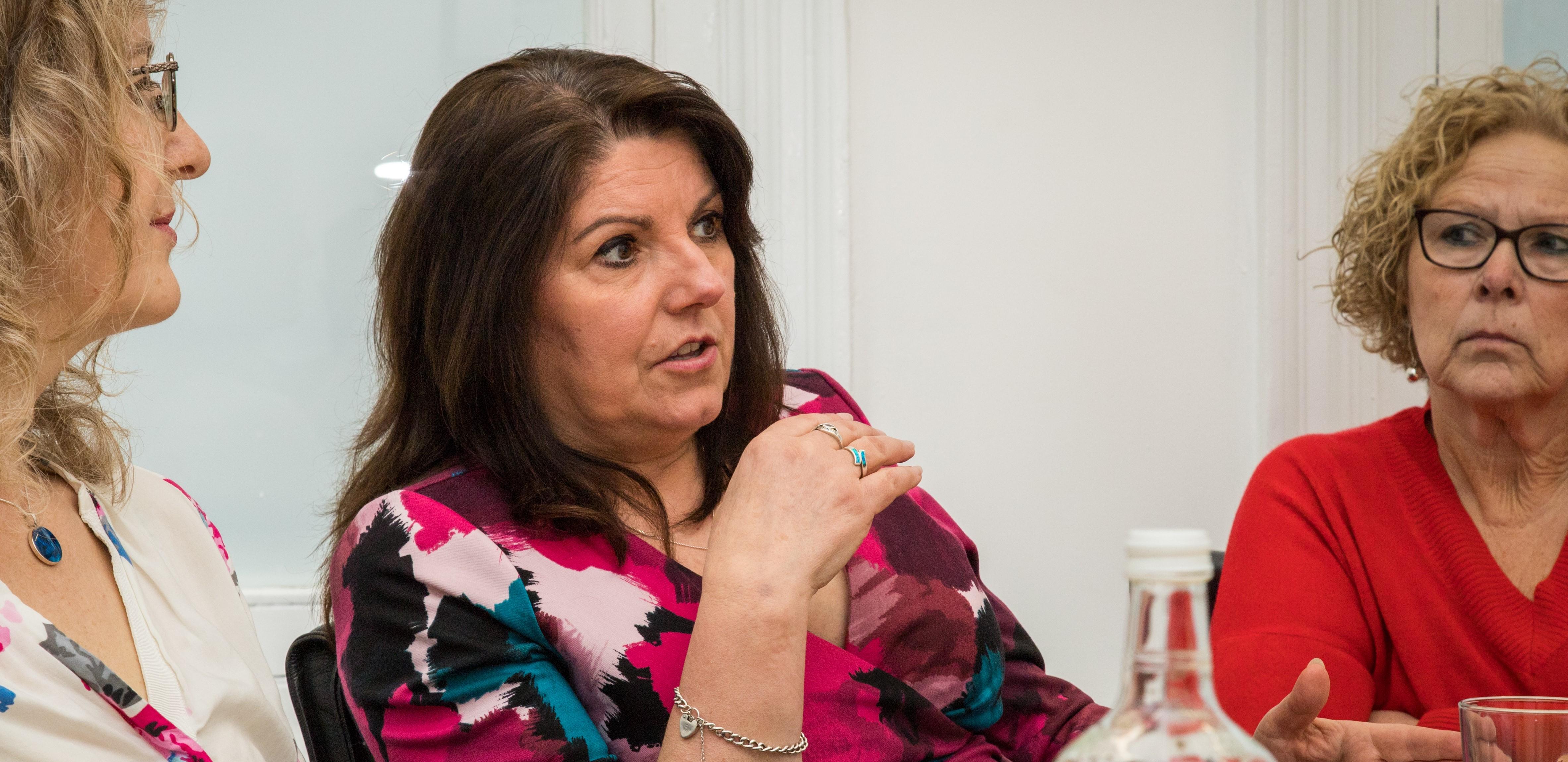 Daniela Corradini在会议上