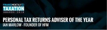 Personal Tax Returns Adviser of the Year 2018 - HfMTax.